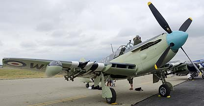 Fairey Firefly AS-6 N518WB, May 14, 2011